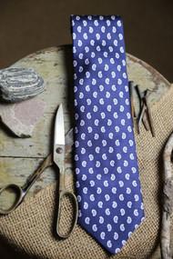 Jos A Bank Blue Necktie