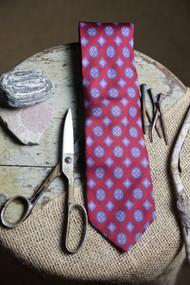 Jos A Bank Crimson Madder Necktie