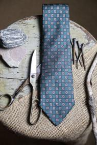 Jos A Bank Deep Green Madder Necktie
