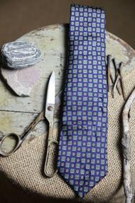 Jos A Bank Deep Blue Madder Necktie