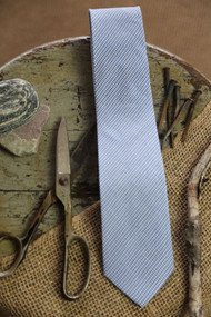 Hamtramck Blue Houndstooth Necktie