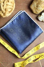 Royal Blue Shine Pocket Square