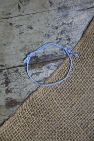 Carolina Blue Rope Bracelet