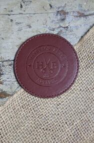 HB Leather Coaster