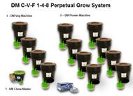 Dewey Mister C-V-F 1-4-8 Perpetual Grow System Aeroponics Growing System