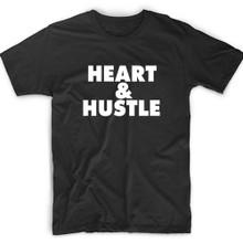 Heart & Hustle Motivational Shirt