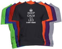 Leo Zodiac T Shirt