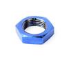 """1""""-12 Titanium Blue Jam Nut Left Hand"""
