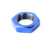 "1""-12 Titanium Blue Jam Nut Left Hand"