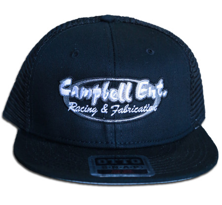 Campbell Ent Racing and Fabrication Black Otto Snapback