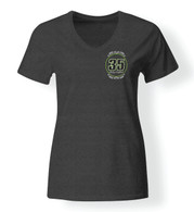 Bailey Campbell Womens V Neck Shirt