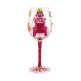 Lolita Queen II Wine Glass