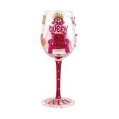 Lolita Queen II Wine Glass