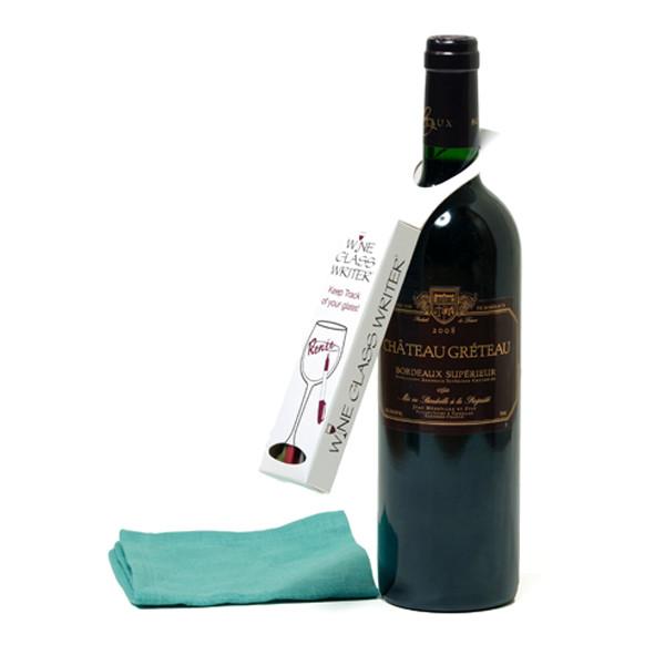 Wine Glass Writers Gift Box   2Shopper.com
