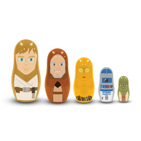 Star Wars Nesting Dolls - Jedi and Droids   2Shopper