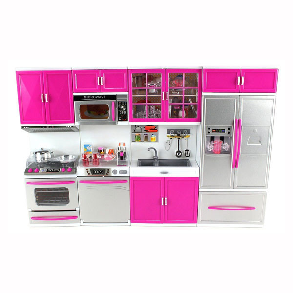 "My Modern Kitchen 32"" Deluxe Battery-Operated Kitchen Playset  