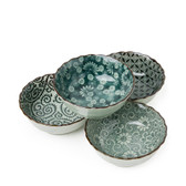 Antique Green Bowl Set