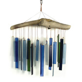 Seaglass & Driftwood Wind Chime