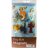 Dog Butt Magnets, Set of 6