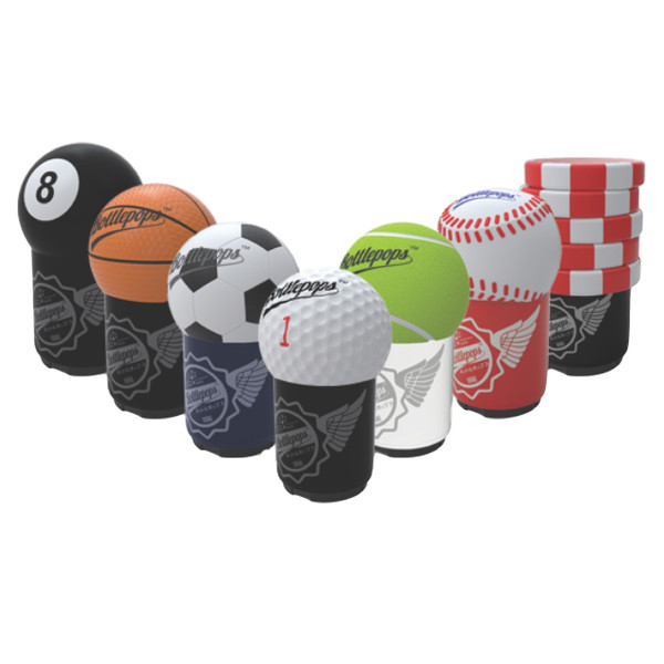 Bottlepops Sports Talking Bottle Opener