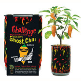 Peach Ghost Chili Growing Kit
