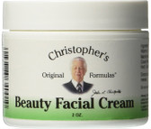 Beauty Facial Cream, 2 oz, Dr Christopher's Original