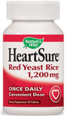 HeartSure Red Yeast Rice 1200 mg, 60 Tabs Nature's Way