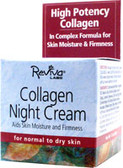 Collagen Night Cream 1.5 oz, Reviva