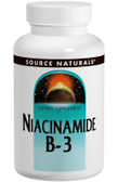 Niacinamide 1500 mg Timed Release 100 Tabs, Source Naturals