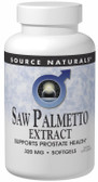 Saw Palmetto Extract 320 mg 60 Softgels Source Naturals, Prostate Health