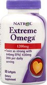 Extreme Omega Fish Oil 60 softgels, Natrol