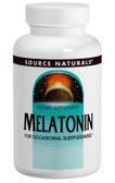 Melatonin 1 mg  Sublingual Peppermint 200 Tabs, Source Naturals