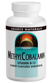 Methylcobalamin 120 Tabs, Source Naturals, Sleep Cycle