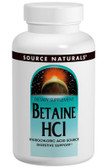 Betaine HCL 90 Tabs, Source Naturals
