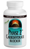 Phase 2 Carbohydrate Blocker 500mg 60 Wafers, Source Naturals