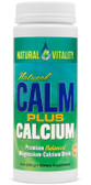 Calm Plus Calcium 8 oz Natural Vitality, Stress