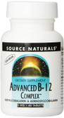 Source Naturals Advanced B12 Complex 60 Tabs, Energy