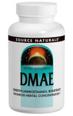 DMAE 50 Caps, Source Naturals, Mental Concentration