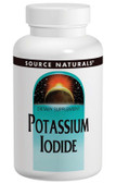 Potassium Iodide 120 Tabs Source Naturals, Thyroid