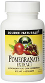 Pomegranate Extract 500 mg 60 Tabs, Source Naturals