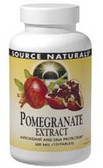 Pomegranate Extract 500 mg 120 Tabs, Source Naturals