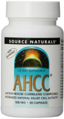 AHCC 500 mg with Bioperine 30 Caps Source Naturals, Immune Support