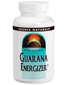 Guarana Energizer 60 Tabs, Source Naturals