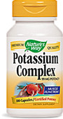 Potassium Complex 99 mg 100 Caps Nature's Way, Muscles