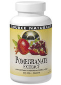 Pomegranate Extract 500mg 240 Tabs, Source Naturals
