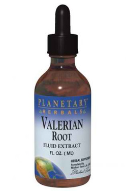 Valerian Root Fluid Extract, 4 fl oz, Planetary Herbals