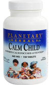 Calm Child Active Children 150 Tabs, Planetary Herbals