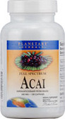 Acai Extract 500 mg 120 caps, Planetary Herbals