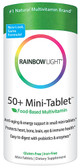 50+ Mini-Tab Multivitamin 180 Tabs Rainbow Light