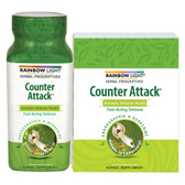 Counter Attack 30 Tabs Rainbow Light, Immune Support